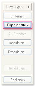 Web Adresse wählen Eigenschaften