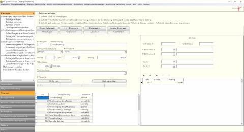 Automatisiertes Beitragsmanagement